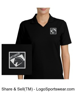 Ladies Rapid Dry Sport Shirt Design Zoom